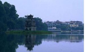 Photo courtesy of Wikipedia Hồ Hoàn Kiếm (Hà Nội)