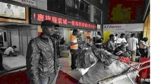 Người châu Phi có mặt ngày càng nhiều tại các thành phố ở Trung Quốc, đặc biệt là Quảng Châu. (Ảnh Reuters)