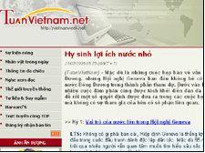 Một bài viết gần đây của nhà báo Đoan Trang