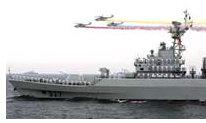Trung Quốc tổ chức trọng thể lễ kỷ niệm 60 năm thành lập Hải quân (Ảnh : Reuters)