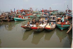Courtesy Vietnamese Photographic Society Có một thời kỳ ngư dân không dám ra khơi sợ bị hải quân TQ bắt (ảnh minh họa)