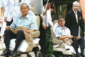 Vua Thái Lan Bhumibol Adulyadej tại BV Siijrath